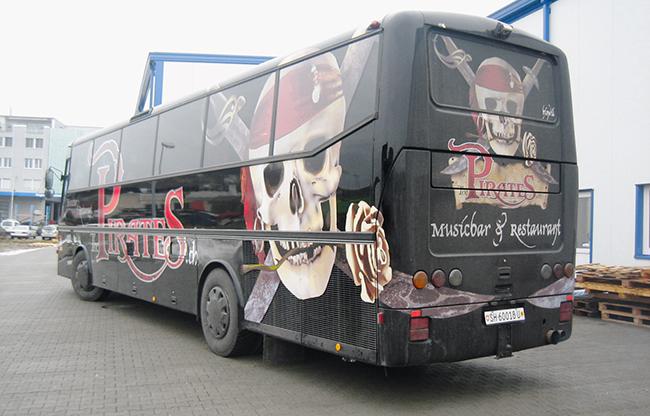 Busbeschriftugn