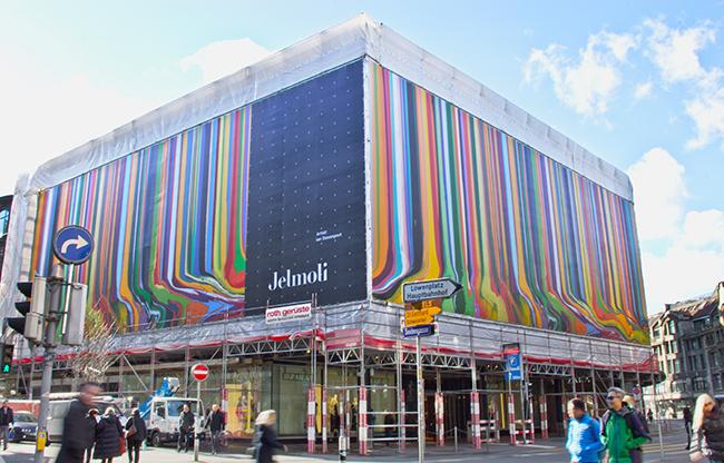Megaposter Fassade